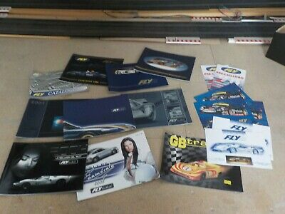 Collection Of 9 Fly Slot Racing Product Catalogues • 12£