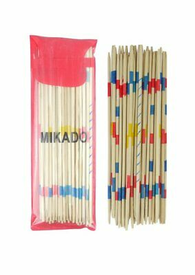 New Mikado Wooden Pick Up Sticks Game Kids Traditional Retro Party XMAS Gift UK • 1.99£