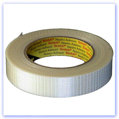 Tape - 25mm Strapping Tape, Linear Fibres • 9.11£