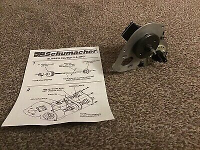 Schumacher Cougar 2 Gearbox Assembly With Slipper Clutch And Pro Diff • 100£
