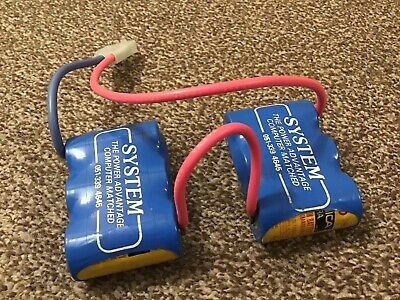 System Saddle Pack Sanyo SCE Battery Pack. Parma Wires Vintage. Lovely Condition • 30£