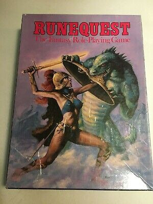 Runequest Game - Boxed Set • 15£
