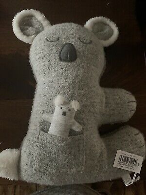 Albetta Koala Knit Toy With Baby • 16£
