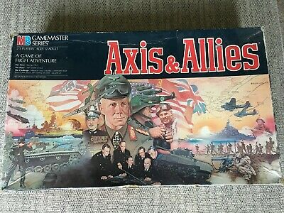 Axis And Allies Vintage Board Game NO MISSING OR BROKEN PIECES • 0.99£