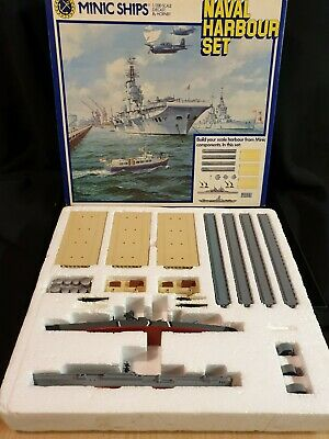 Hornby MINIC NAVAL HARBOUR SET BOXED, Ref A28 • 19.99£