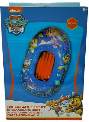 NEW - PAW PATROL - Children Kids Inflatable Boat - Water Pool Swimming Beach Toy • 18£
