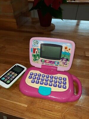Leapfrog Baby Phone And Laptop • 1.20£
