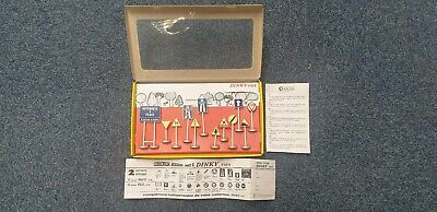Dinky Toys - French Road Signs - Box Of 12 X Signs - Ref: Model No 593   • 11.50£