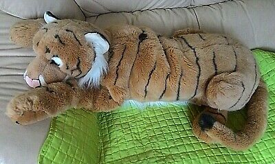 Very Large Tiger Lovely Soft Toy 31  Approx • 9.99£