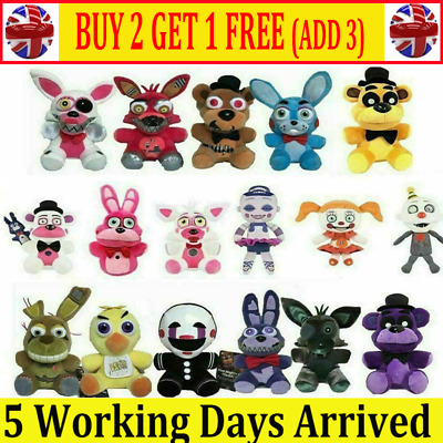 Five Nights At Freddy's FNAF Horror Game Plush Doll Plushie Toys Kids Xmas Gifts • 7.99£