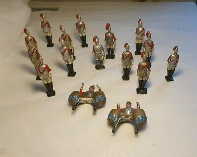 16 CRESCENT LIFEGUARDS SOLDIERS INC 2x KETTLE DRUMMERS - VERY FRAGILE  • 9.99£