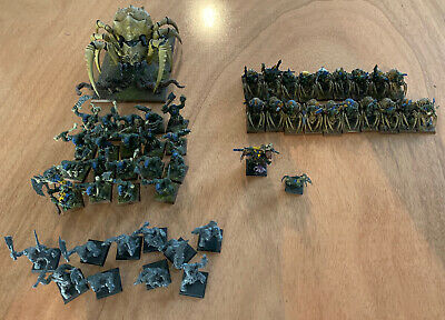 Warhammer Aos Fantasy Orks And Goblins On Spiders • 0.99£