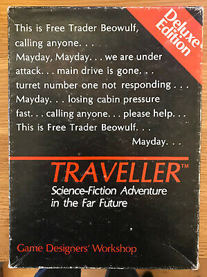 Traveller Deluxe Edition + Bk5 (High Guard), Snapshot And 5 More Adventures, GDW • 50£