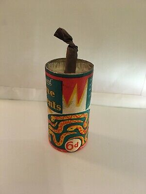 Standard Fireworks 6d Mine Of Serpents Totally Empty And Inert Item From The 60s • 9.99£
