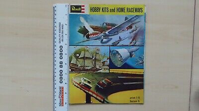 Revell HOBBY KITS  And HOME RACEWAYS Booklet • 6.95£