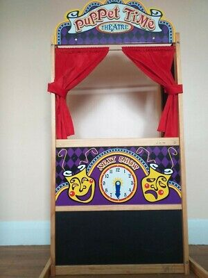 Puppet Theatre (Melissa & Doug) With Puppets • 35£
