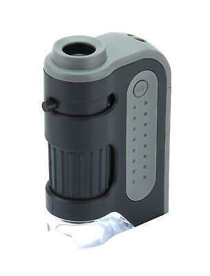 Carson Microbrite Plus 60x - 120x LED Pocket Microscope - FREE Delivery • 15.50£