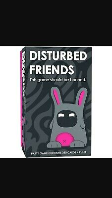 New Sealed Disturbed Friends - This Game Should Be Banned Game 380 Cards+Rules • 15.99£