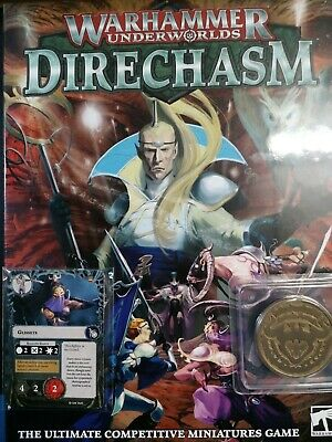 Warhammer Underworlds: Direchasm (English) With Collectable Coin And Cards • 49.99£