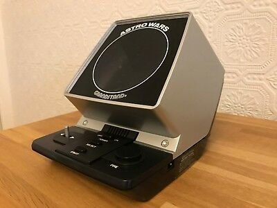 Possessed? Grandstand Astro Wars Vintage 1981 Tabletop Electronic Game - Superb! • 650£