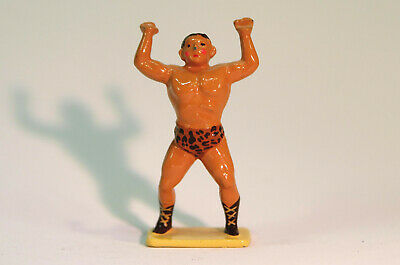 Cast Metal Collectors' Model Of Circus Strong Man, After Charbens • 8£
