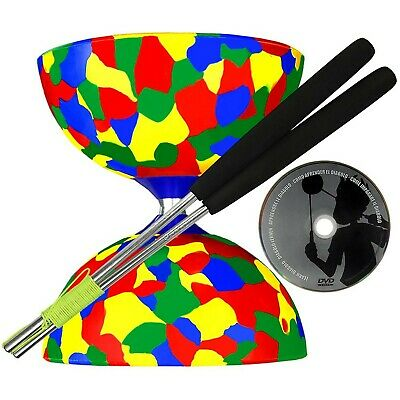 Jester Diabolo, Ali Dream Handsticks & Juggle Dream 'Learn To Play Diabolo' DVD • 35.86£