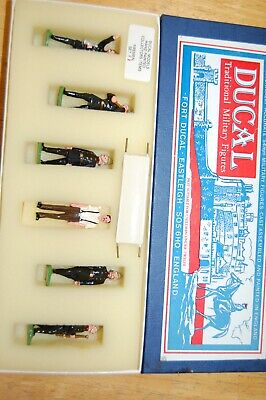 Vintage Ducal White Metal Lead Fireman Set 1 • 34.99£