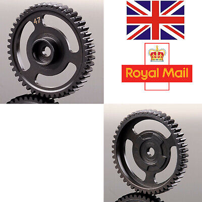 HPI76937 47T Steel Spur Gear 47 Tooth (1M) For HPI RC Model Car SAVAGE X 4.6 • 17.08£