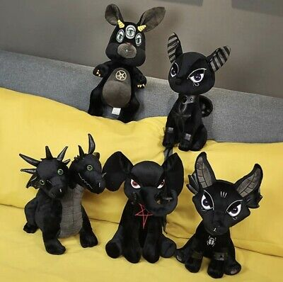 35cm KILLSTAR Anubis Devil Doll Plush Toy Stuffed Teddy  Quality - New • 25£