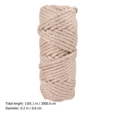 Natural Sisal Hemp Rope String 30M Cat Scratcher Rope Playing Toy Pet Supplies • 13.51£