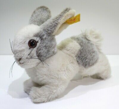 Vintage Collectors Steiff Plush Toy - Grey And White Rabbit 2992-17 • 12.99£