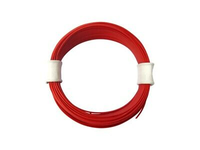 10m Cable Wire 0, 04mm ² Red Decoder Wire Highly Flexible 1-adrig 10 Meter Ring • 14.18£
