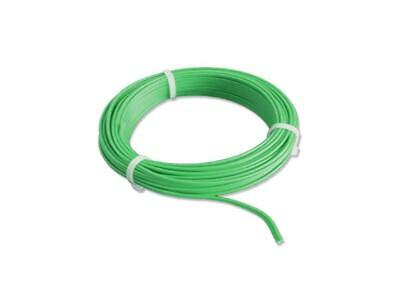 5m Cable Wire Twin Braid Wire 2x0, 14mm ² Plain Green Stranded Wire 5 Meter • 14.28£