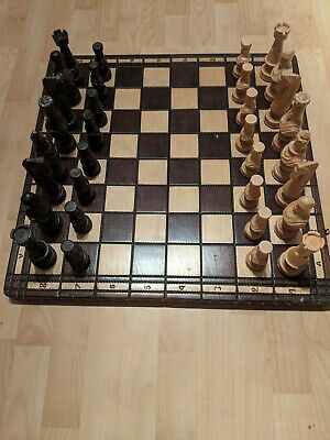 Chess Board Wooden (Hand Made) • 65£