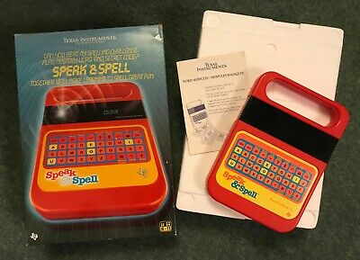 Vintage Texas Instruments Speak & Spell Fully Functional In Box • 26£