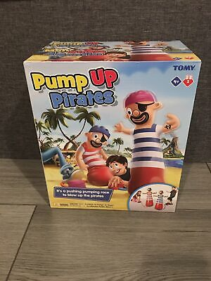 T72993 TOMY Pump Up Pirates Inflatable Childrens Fun Game For Kids Age 4+ • 14.99£