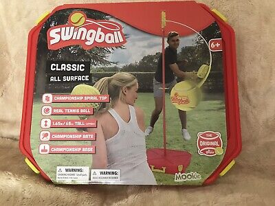 New MOOKIE Swingball Classic All Surface Red Yard Game Play Anywhere • 40£
