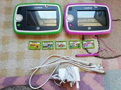 2x LeapFrog Leappad 3 Learning Tablet Pink  • 26.77£