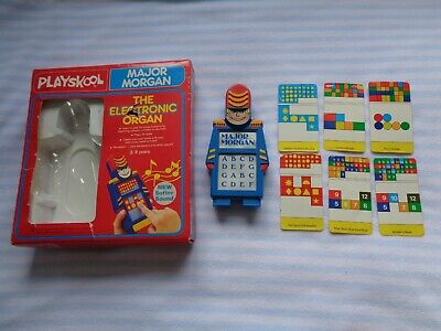 Vintage Playskool Major Morgan – Fully Working Order Boxed • 24.99£