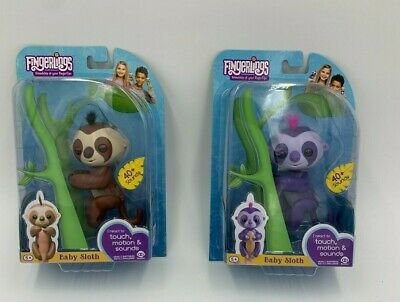 Fingerling Baby Sloth Marge Kingsley Interactive Pet Brand New • 10£