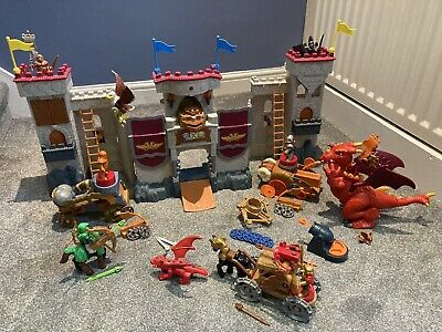 Fisher Price Imaginext Castle Play Set With Interactive Dragon. • 16£