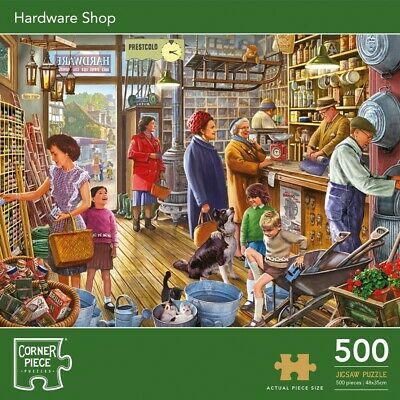 Hardware Shop 500 Piece Jigsaw Puzzle, Toys & Games, Brand New • 7£
