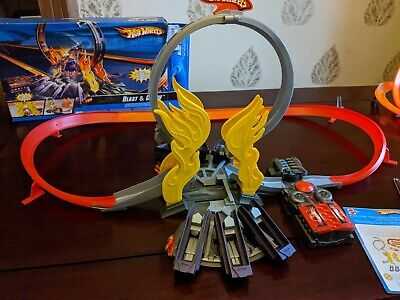 Hot Wheels Blast And Crash Complete Track Set Boxed • 15£