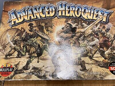 Advanced HeroQuest Board Game - Game Complete Fantasy Battles Game Most Painted • 120£