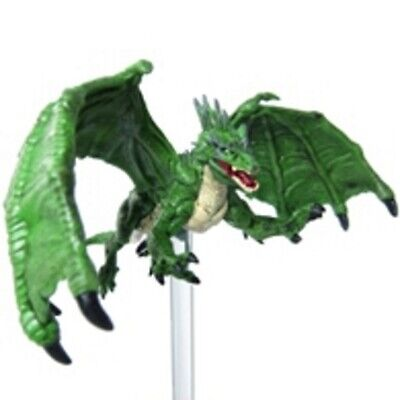 D&D Pathfinder Miniature Tyranny Of Dragon 31 Green Dragon (UC) LARGE • 11.49£