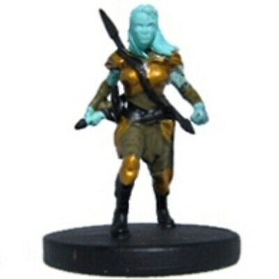 D&D Pathfinder Miniature Elemental Evil 33 Air Genasi Rogue RARE • 6.99£