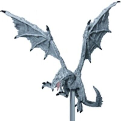 D&D Pathfinder Miniature Elemental Evil 41 White Dragon RARE LARGE • 15.99£