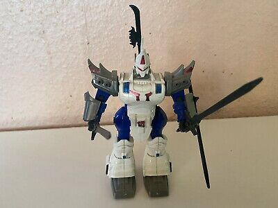 Vintage Tomy Z-knights Rom Size 2 Battle Warrior Zoid With Weapons • 30£