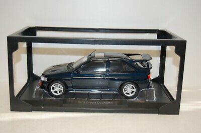 Norev 1:18 1992 Ford Escort RS Cosworth Petrol Blue Damaged Packaging - NV182777 • 55£