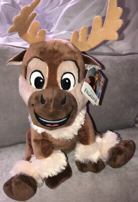 SVEN The Reindeer From Frozen Plush Toy Disney- 25cm Brand New RRP £15 • 3.20£